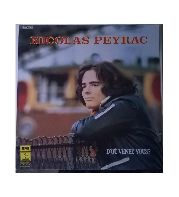 Nicolas Peyrac - D'Où Venez-Vous? (LP, Album) mesvinyles.fr