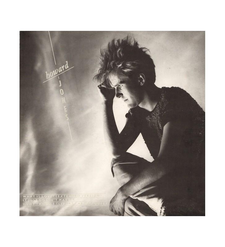 "Howard Jones - What Is Love? (12"") mesvinyles.fr"