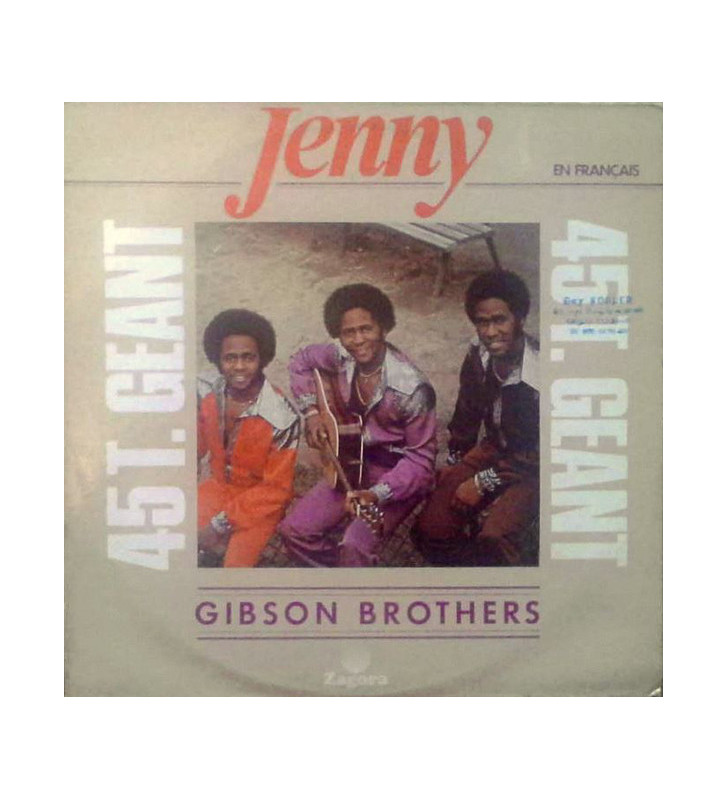 "Gibson Brothers - Jenny (12"") mesvinyles.fr"