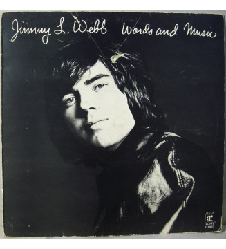 Jimmy L. Webb* - Words And Music (LP, Album) mesvinyles.fr