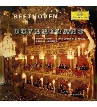 Ludwig van Beethoven, Igor Markevitch - Ouvertures (LP) mesvinyles.fr