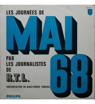 Les Journalistes De R.T.L. / Jean-Pierre Farkas - Les Journées De Mai 68 (LP, Album, Mono) mesvinyles.fr