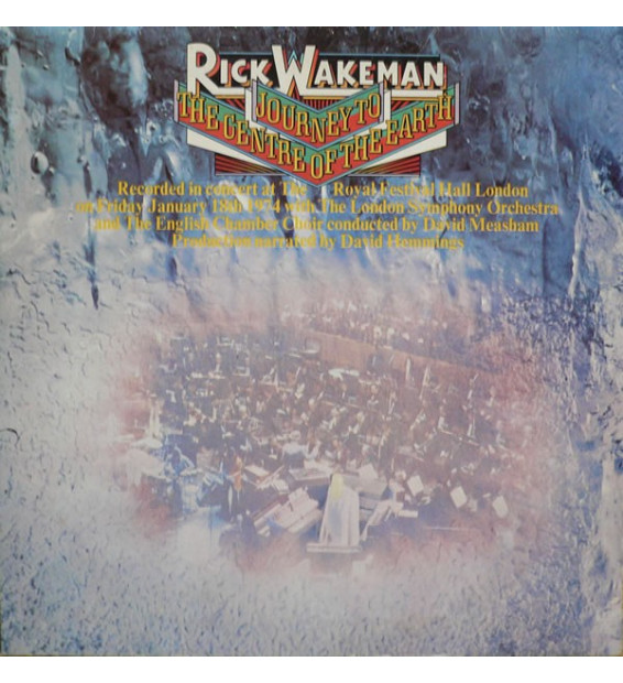 Rick Wakeman - Journey To The Centre Of The Earth (LP, Album)