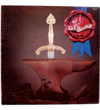 Rick Wakeman - The Myths And Legends Of King Arthur And The Knights Of The Round Table (LP, Album, Gat) mesvinyles.fr