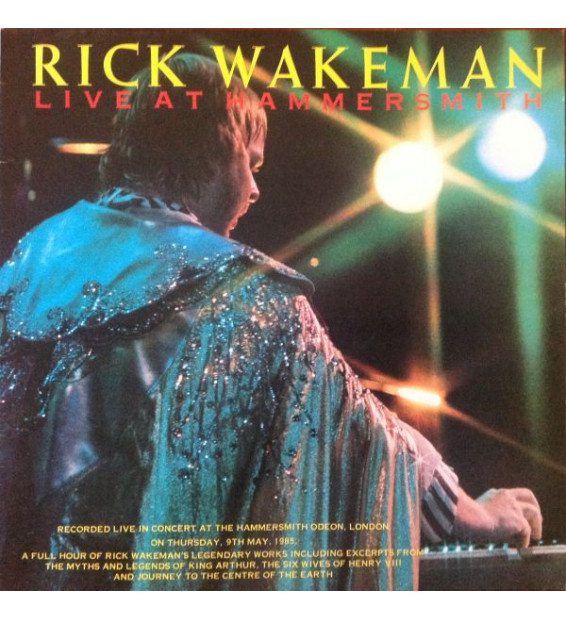 Rick Wakeman - Live At Hammersmith (LP, Album)