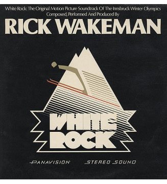 Rick Wakeman - White Rock (LP, Album)