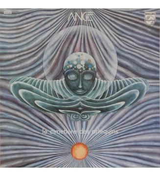 Ange (4) - Le Cimetière Des Arlequins (LP, Album, Gat)