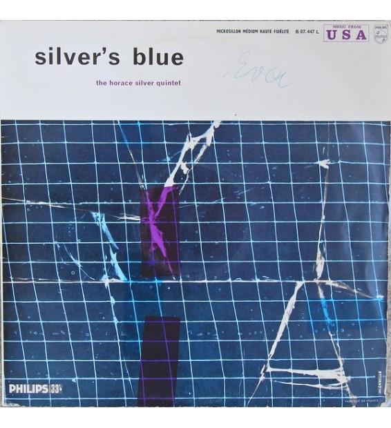 The Horace Silver Quintet - Silver's Blue (LP, Album, Mono)
