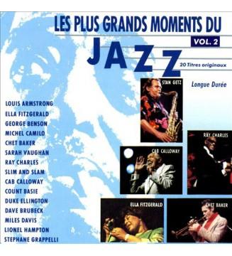 Various - Les Plus Grands Moments Du Jazz Vol.2 (2xLP, Comp) mesvinyles.fr