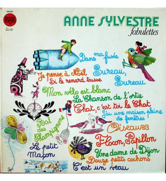 Anne Sylvestre - Fabulettes (LP, Album, RE)