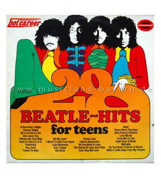 John Hamilton Band - 28 Beatle-Hits For Teens (LP, Album)