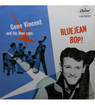 Gene Vincent And His Blue Caps* - Bluejean Bop! (LP, Album, Mono, RE) mesvinyles.fr