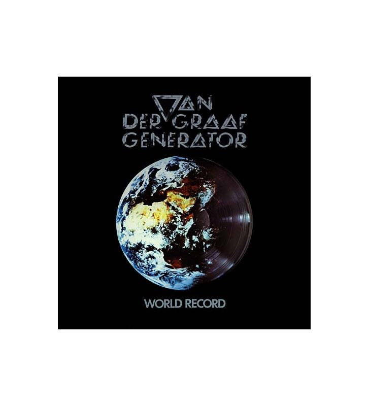 Van Der Graaf Generator - World Record - Vinyle Occasion mesvinyles.fr