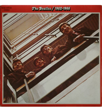 The Beatles - 1962-1966 (2xLP, Comp, RE, Gat)