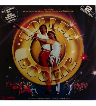 """Various - Music From The Motion Picture Soundtrack """"Roller Boogie"""" (2xLP, Album) mesvinyles.fr"""