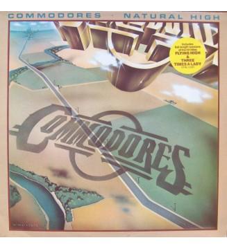 Commodores - Natural High (LP, Album) mesvinyles.fr