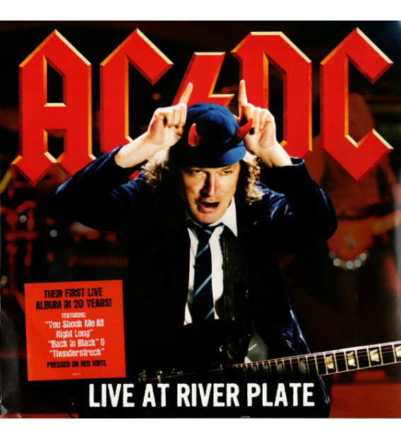 AC/DC - Live At River Plate (3xLP, Album, Red) mesvinyles.fr