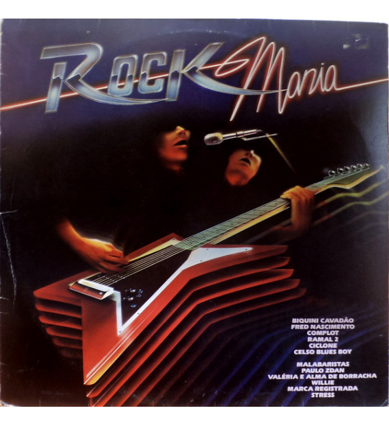 Various - Rock Mania (LP, Comp)