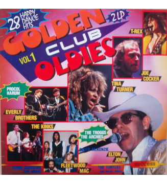 Various - Golden Club Oldies Vol.1 (2xLP, Comp) mesvinyles.fr