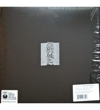 Joy Division - Unknown Pleasures (LP, Album, RE, RM, 180) mesvinyles.fr