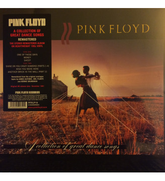 Pink Floyd - A Collection Of Great Dance Songs (LP, Comp, RM, 180)