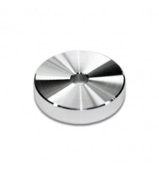 Centreur / adaptateur en aluminium pour 45T mesvinyles.fr