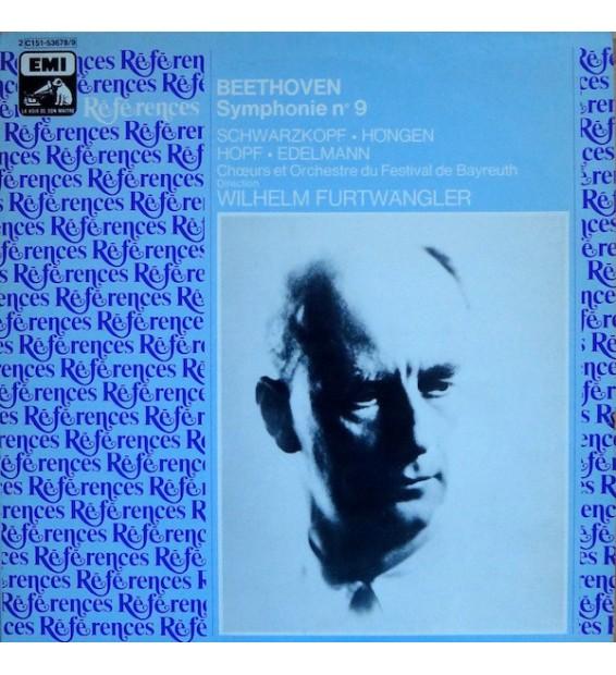 Beethoven* - Wilhelm Furtwangler*, Chœurs* Et Orchestre Du Festival De Bayreuth* - Symphonie Nº 9 / Symphonie Nº 1 (2xLP, Albu