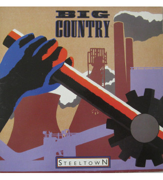 Big Country - Steeltown (LP) mesvinyles.fr