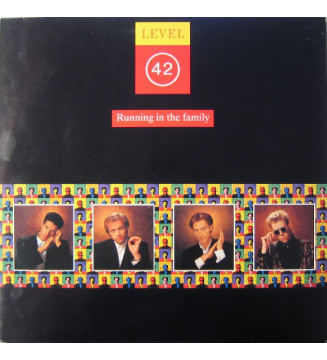 Level 42 - Running In The Family (LP, Album) mesvinyles.fr