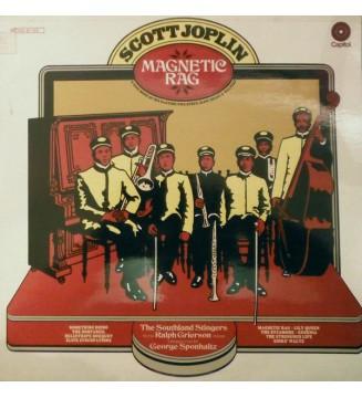 Scott Joplin : The Southland Stingers With Ralph Grierson, George Sponhaltz - Magnetic Rag (LP) mesvinyles.fr