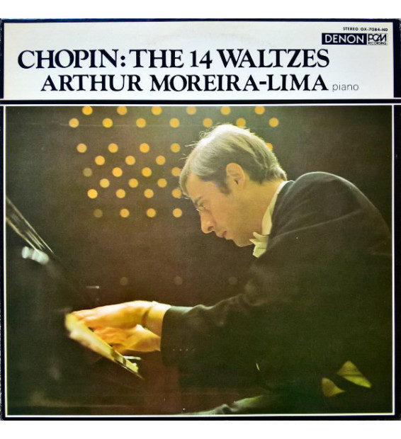 Arthur Moreira-Lima* Plays Chopin* - The 14 Waltzes (LP)