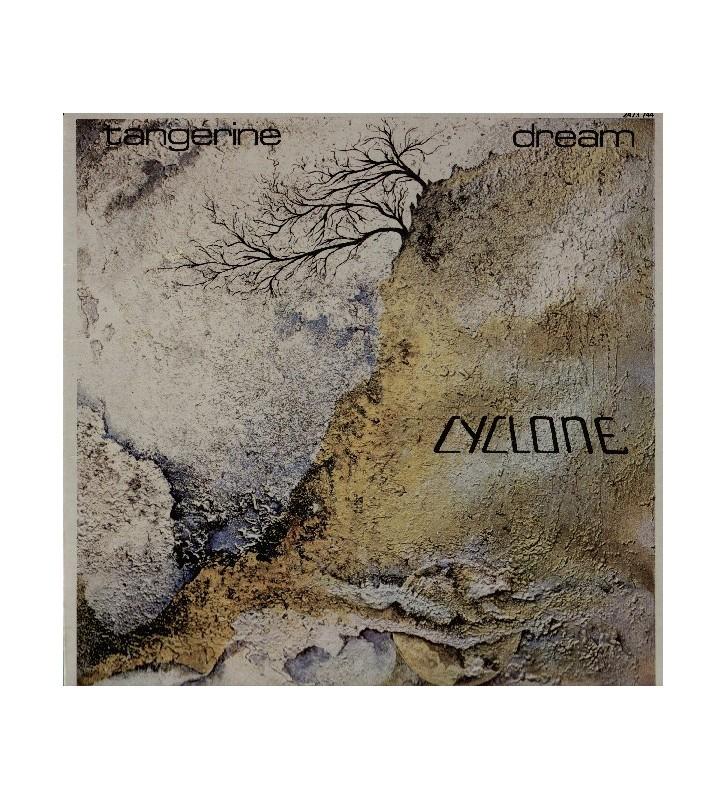 Tangerine Dream - Cyclone (LP, Album, Gat) mesvinyles.fr