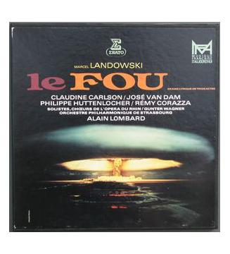Marcel Landowski / Claudine Carlson, José Van Dam, Philippe Huttenlocher, Rémy Corazza, Alain Lombard – Le Fou - Vinyle mesvin