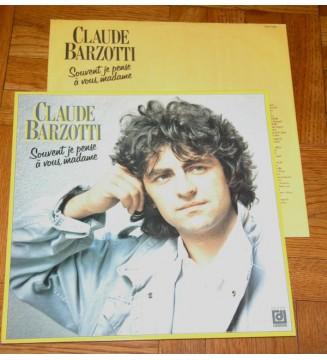 Claude Barzotti - Souvent Je Pense A Vous, Madame (LP)