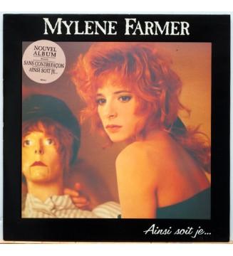 Mylène Farmer - Ainsi Soit Je... (LP, Album)