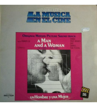 Francis Lai - A Man And A Woman (Original Motion Picture Soundtrack) (LP, Album) mesvinyles.fr