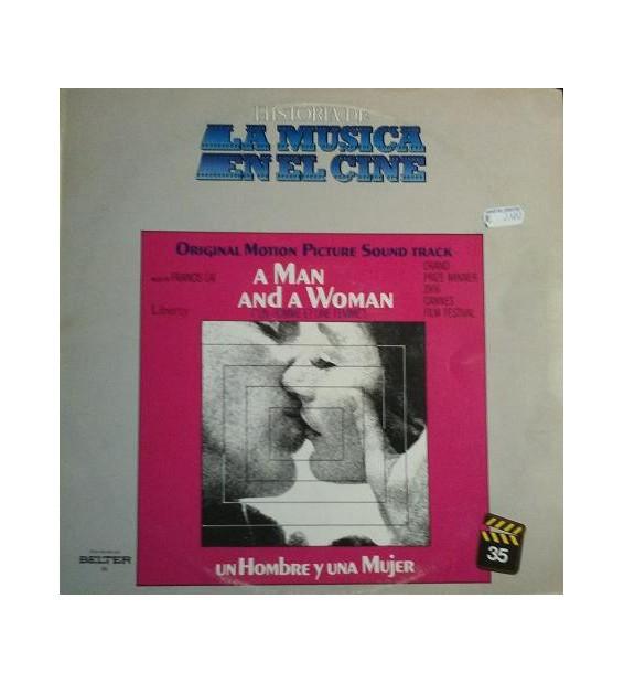 Francis Lai - A Man And A Woman (Original Motion Picture Soundtrack) (LP, Album) mesvinyles.fr