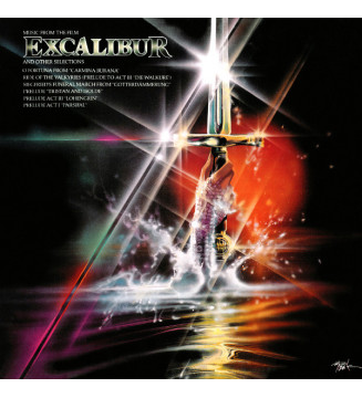 Various - Music From The Film Excalibur And Other Selections (LP, Comp, RE) mesvinyles.fr