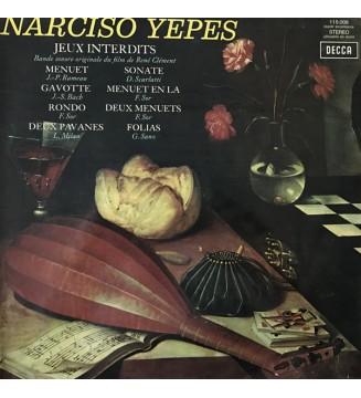 Narciso Yepes - Jeux Interdits - Bande Sonore Originale Du Film De R. Clement (LP)