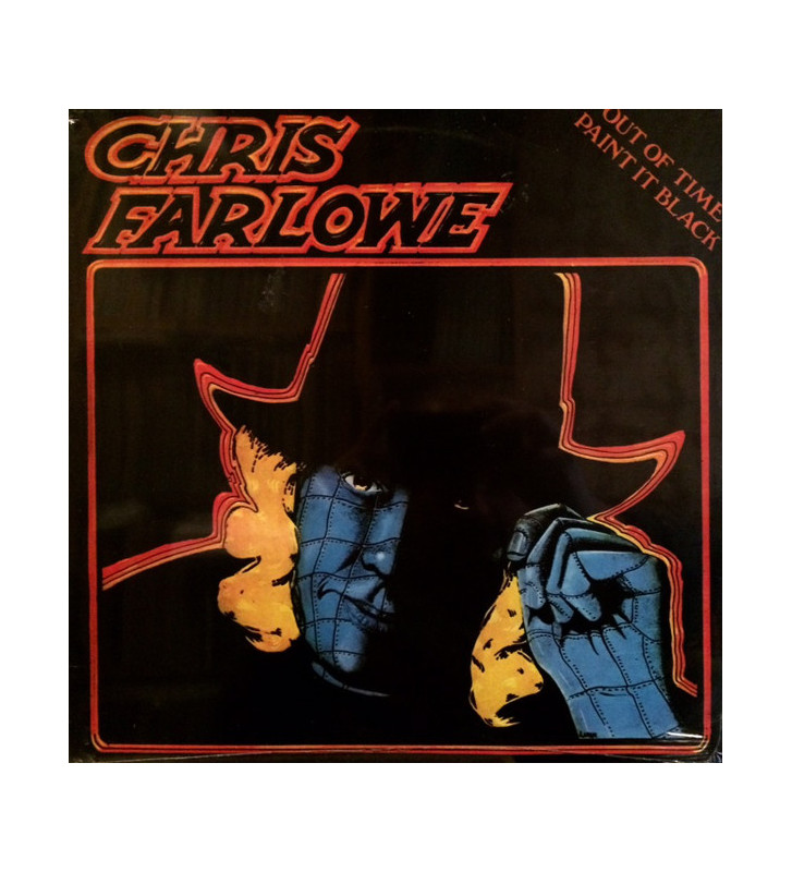 Chris Farlowe - Out Of Time Paint It Black (LP, Album) mesvinyles.fr