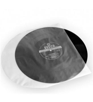 25 Sous-pochettes plastique souple coins arrondis 33T