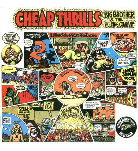 Big Brother & The Holding Company - Cheap Thrills (LP, Album) mesvinyles.fr