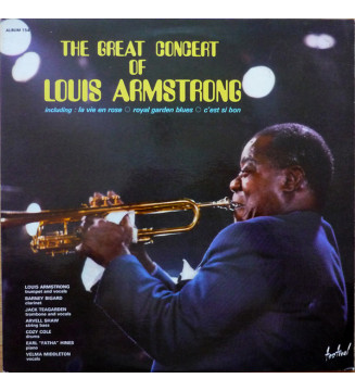 Louis Armstrong - The Great Concert Of Louis Armstrong (2xLP, Gat)