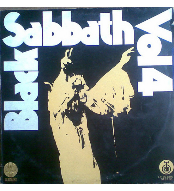 Black Sabbath - Black Sabbath Vol 4 (LP, Album, Gat)