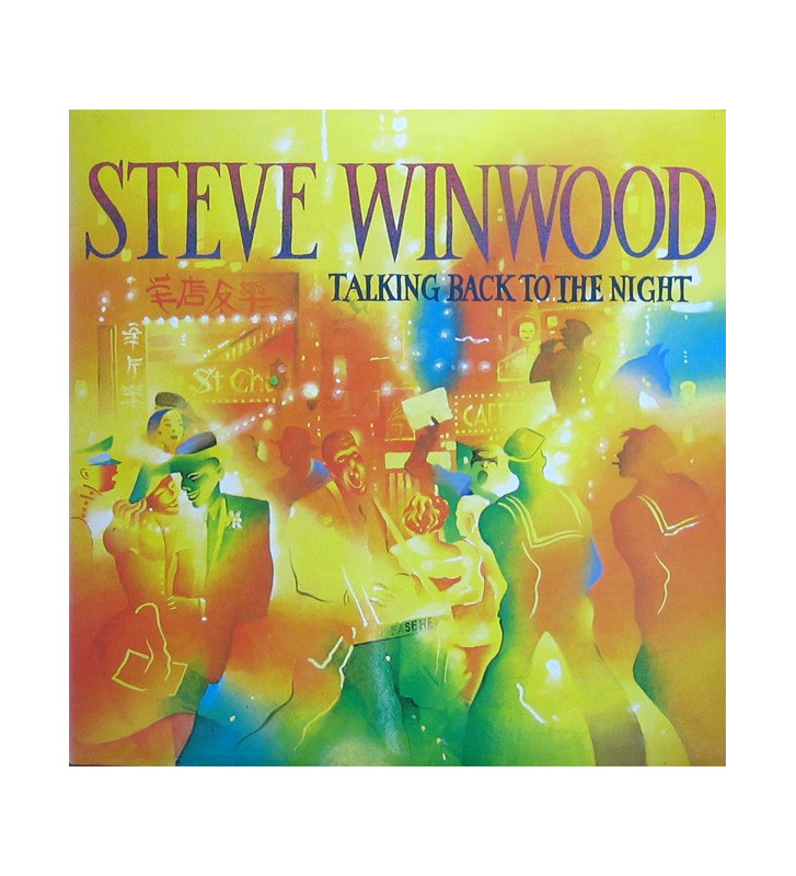Steve Winwood - Talking Back To The Night (LP, Album) mesvinyles.fr