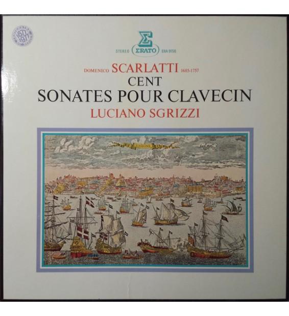 Domenico Scarlatti, Luciano Sgrizzi - Cent Sonates Pour Clavecin (6xLP, Box) mesvinyles.fr