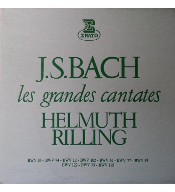 Johann Sebastian Bach, Helmuth Rilling - Les Grandes Cantates - Volume 3 (5xLP, Box) mesvinyles.fr