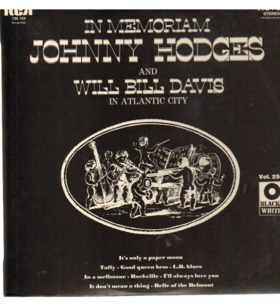 Johnny Hodges, Will Bill Davis, Lawrence Brown, Bob Brown - In Memoriam Johnny Hodges and Will Bill Davis in Atlantic City (LP,
