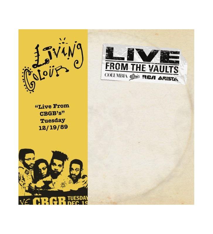 "Living Colour - ""Live From CGGB's"" Tuesday 12/19/89 (2xLP, RSD) mesvinyles.fr"