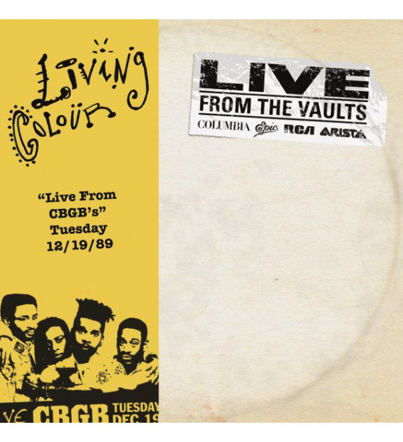 """Living Colour - """"Live From CGGB's"""" Tuesday 12/19/89 (2xLP, RSD)"""